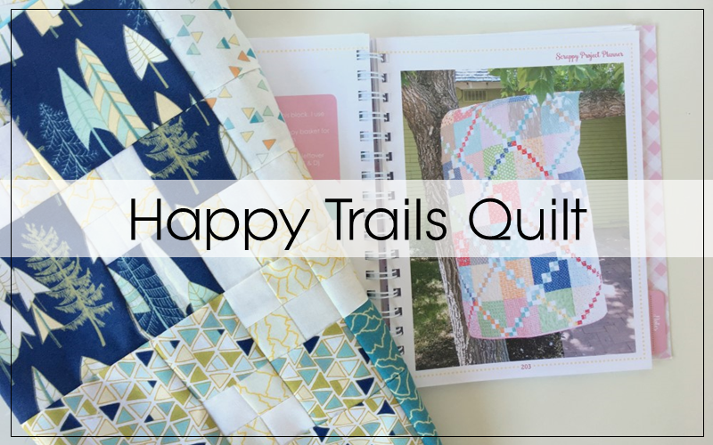 Happy Trails Baby Quilt