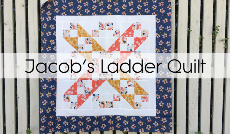 Jacob's Ladder Baby Quilt