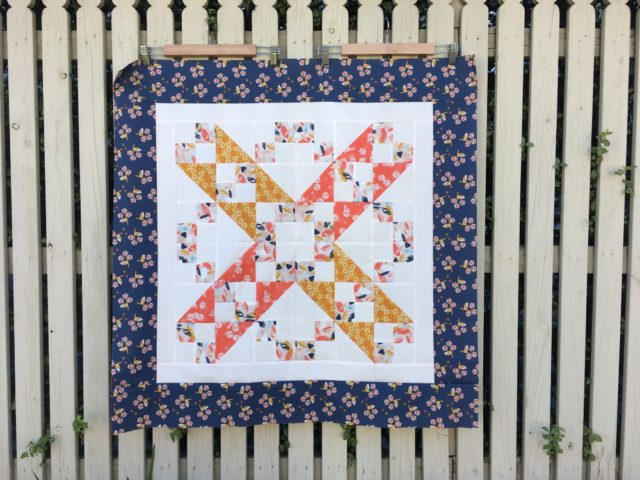 Jacobs Ladder quilt pattern in Paper Meadow by JillyP Studio for Dashwood Studio