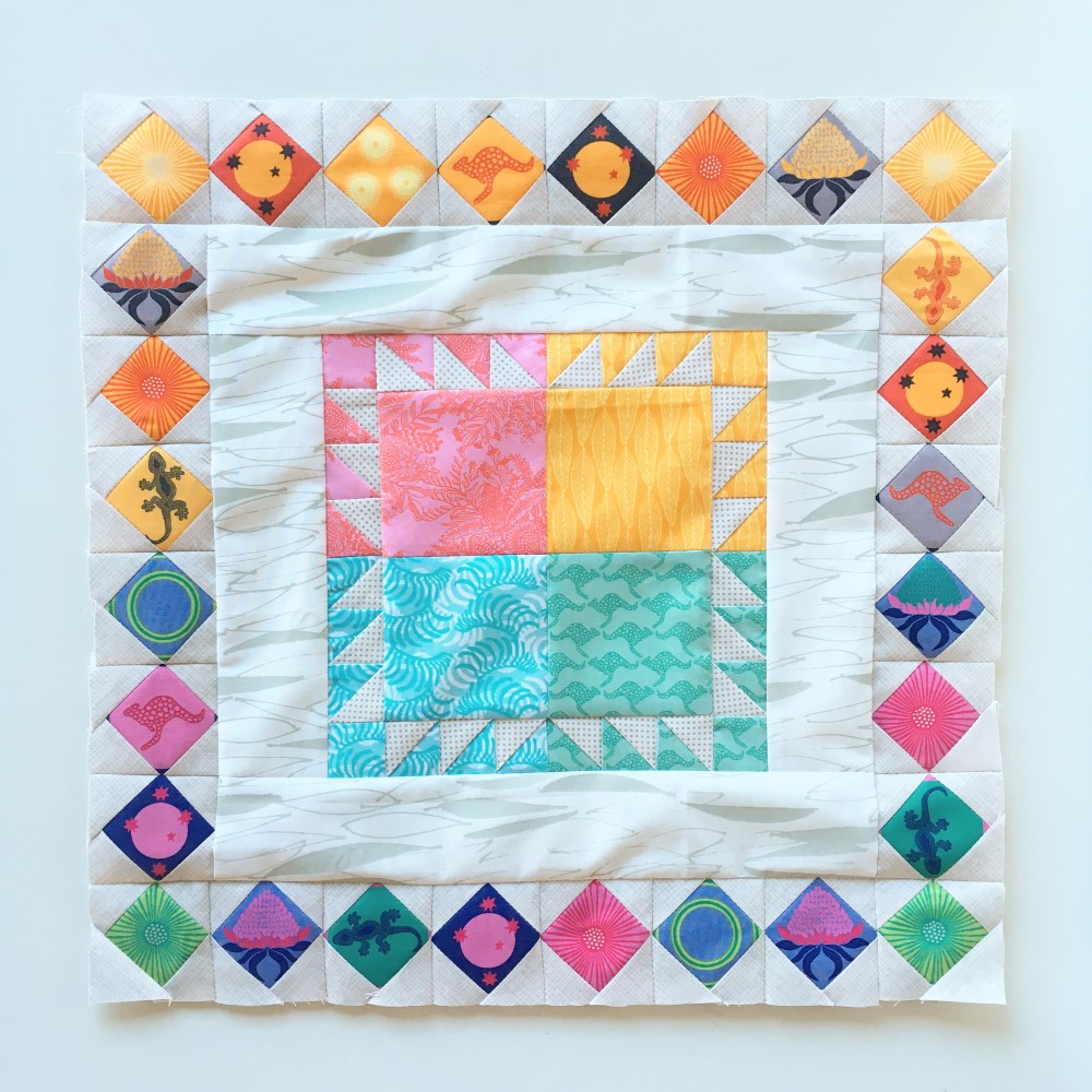 Made Modern In Australia Medallion Quilt Borders By BlossomHeartQuilts