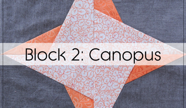 Milky Way Sampler: Block 2 Canopus