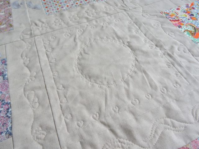 Land Of Rhyme play mat pattern by BlossomHeartQuilts.com