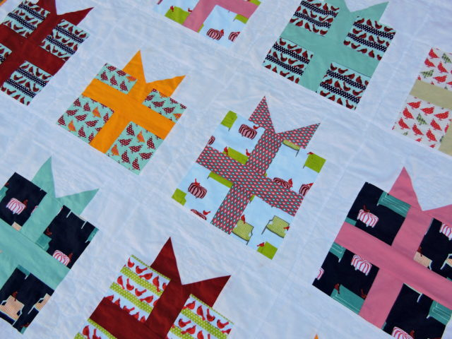 Rapt quilt detail by Blossom Heart Quilts