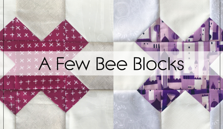 A Few Quilting Bee Blocks