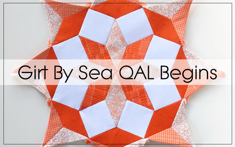 Girt By Sea Medallion Quilt Along