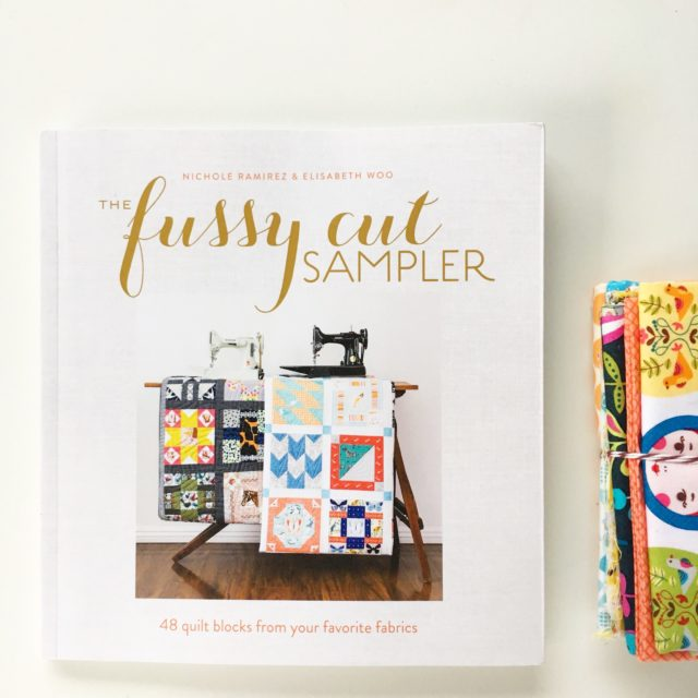 Fussy Cut Sampler book