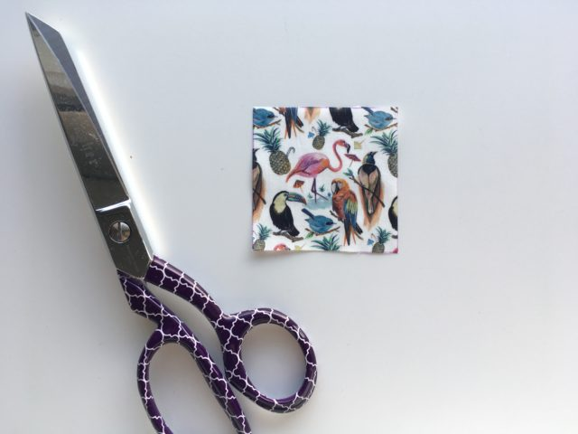Fussy cutting tutorial for quilt blocks on BlossomHeartQuilts.com