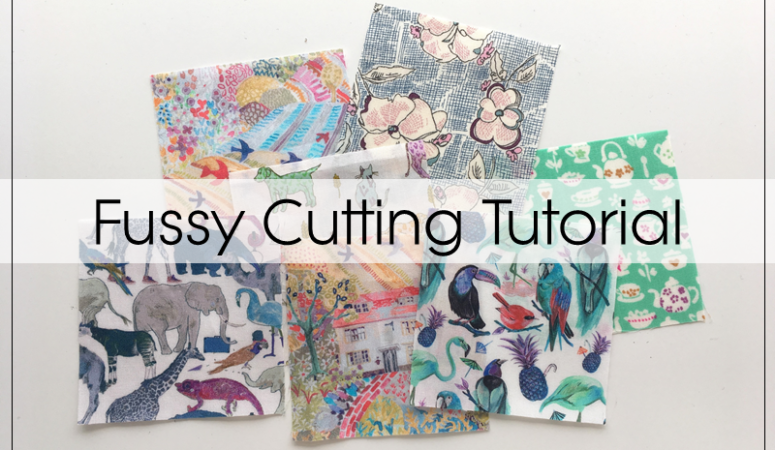 Fussy Cutting Tutorial + 4″ Economy Block Pattern