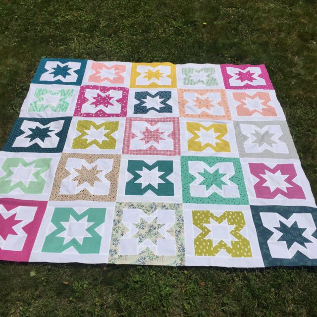 Geode quilt by Beth