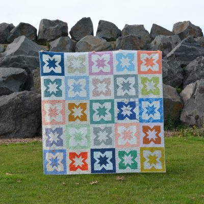 Geode quilt by Kat