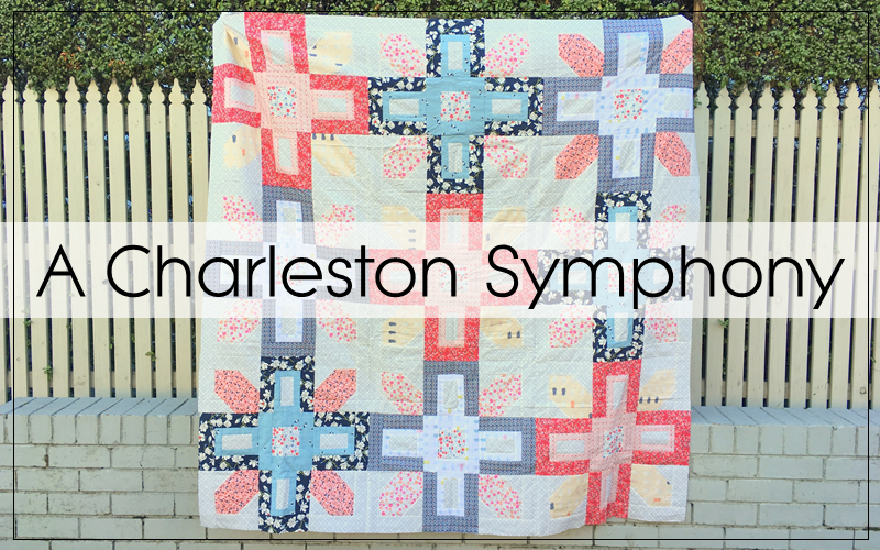 A Charleston Symphony Quilt