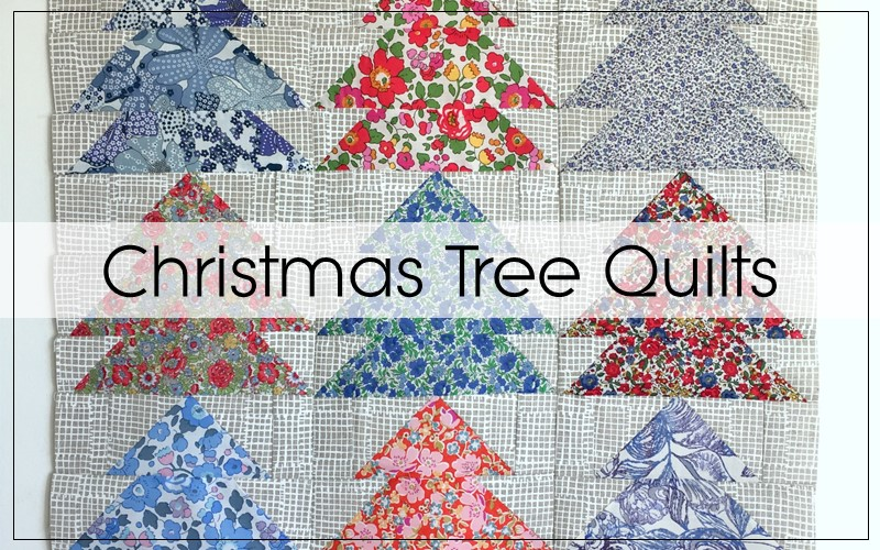 christmas tree quilt blocks blossom heart quilts