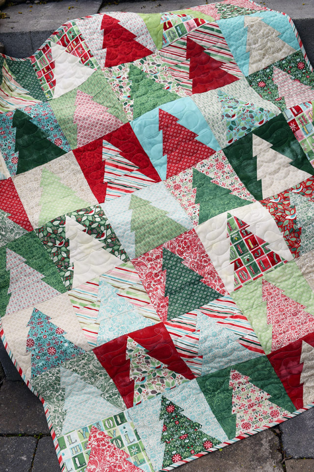 The Cloth Parcel - Woodland Wander Quilt Small by Audrey Mann