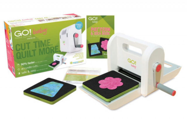 AccuQuilt GO! Baby fabric cutter prize