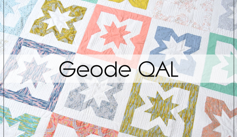 Announcing the Geode Quilt Along