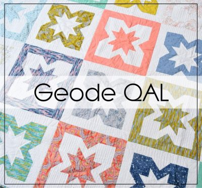 Geode QAL with BlossomHeartQuilts.com