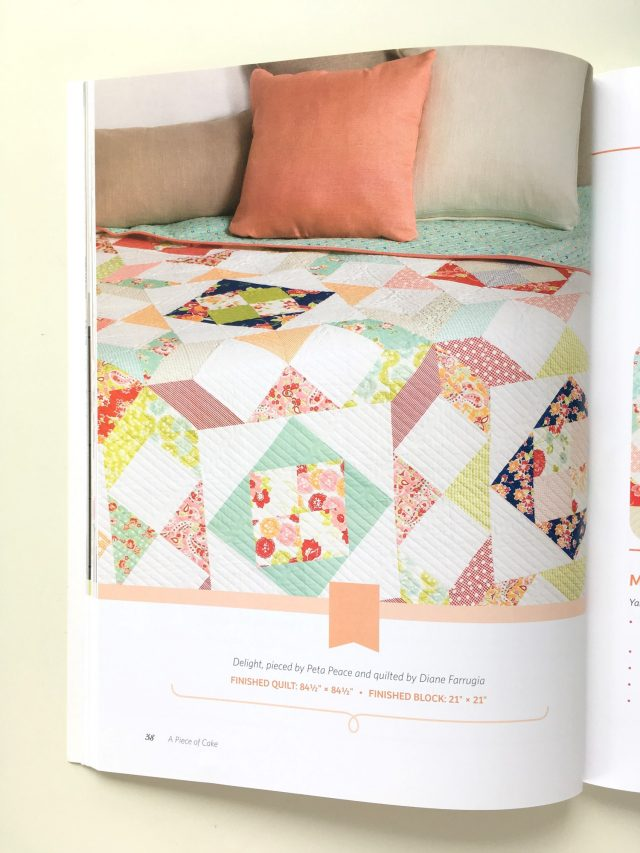 Piece Of Cake Delight quilt