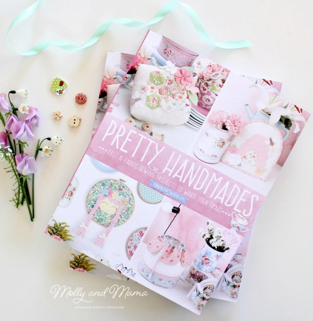 Pretty Handmades sewing book by Lauren Wright