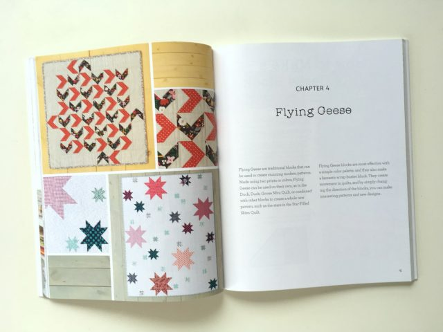 Weekend Quilting flying geese quilts