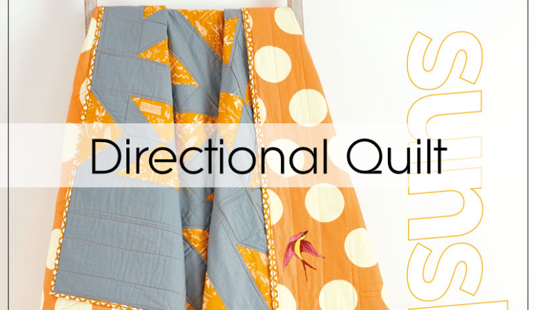 Directional Quilt in Love Patchwork & Quilting 52