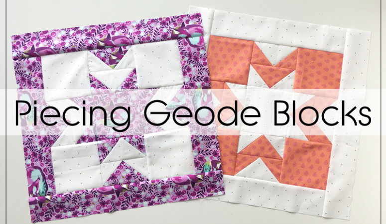 Geode QAL: Piecing The Blocks