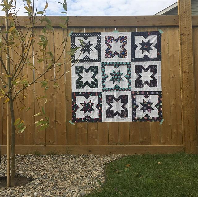 Geode quilt by quiltsewpretty