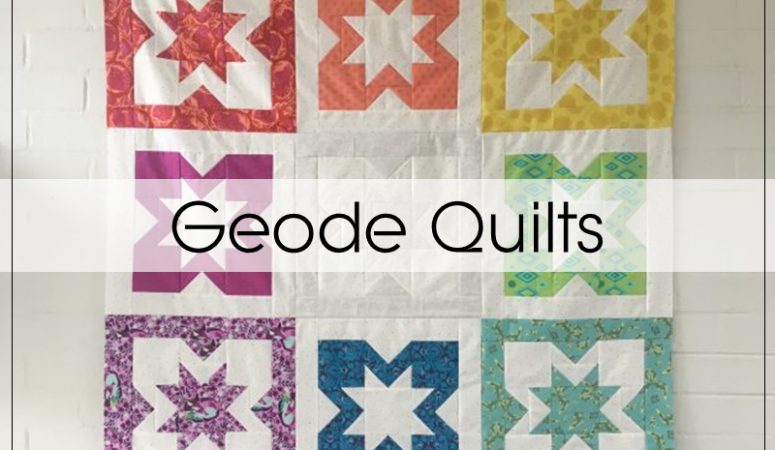 Geode QAL: Finished Quilts