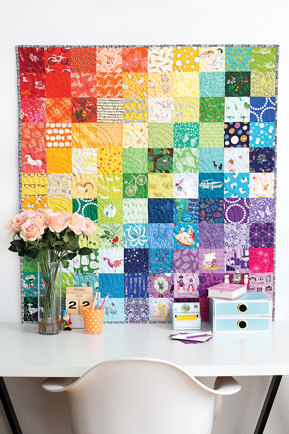 Fussy Cutters Club Super Star Coasters Blossom Heart Quilts