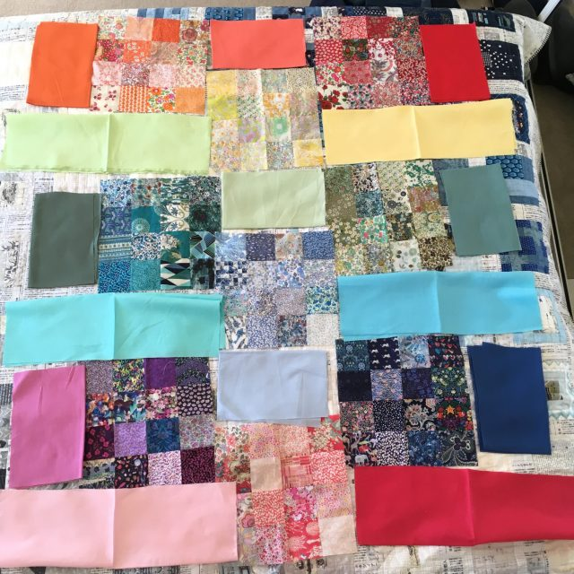 Rainbow Liberty quilt plan 1