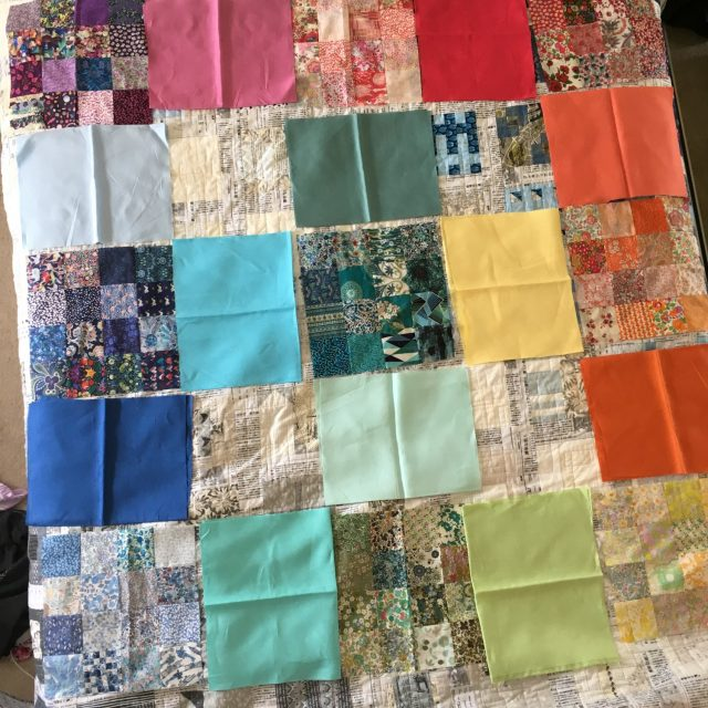 Rainbow Liberty quilt plan 3