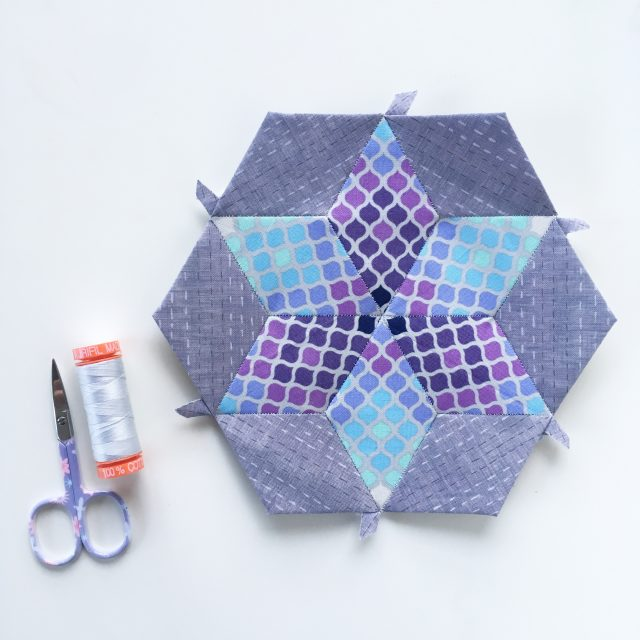 Super Star Coasters from Fussy Cutters Club by BlossomHeartQuilts.com