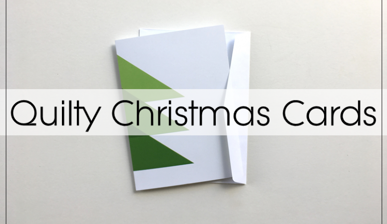 Christmas Cards for Quilters