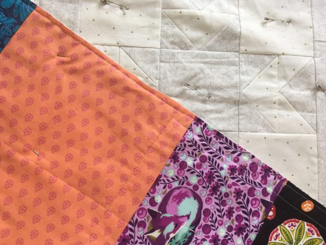 How to machine quilt your quilt top