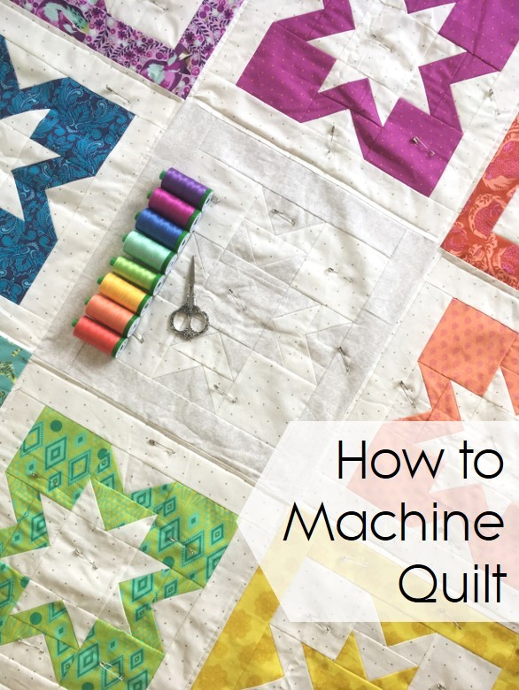how to machine quilt