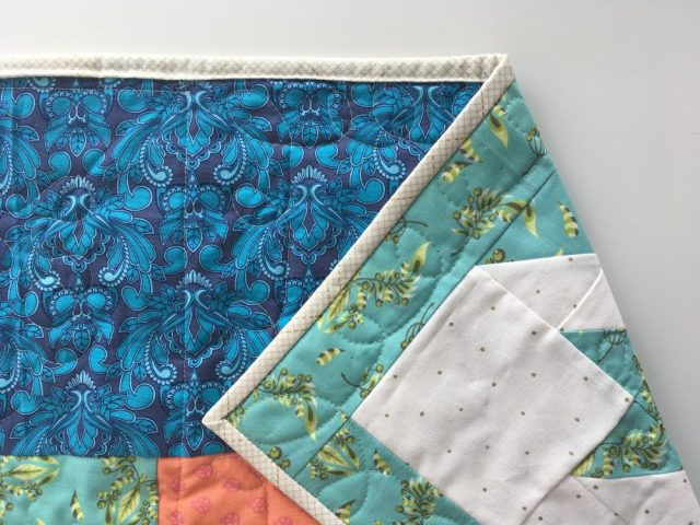 How to machine bind a quilt tutorial