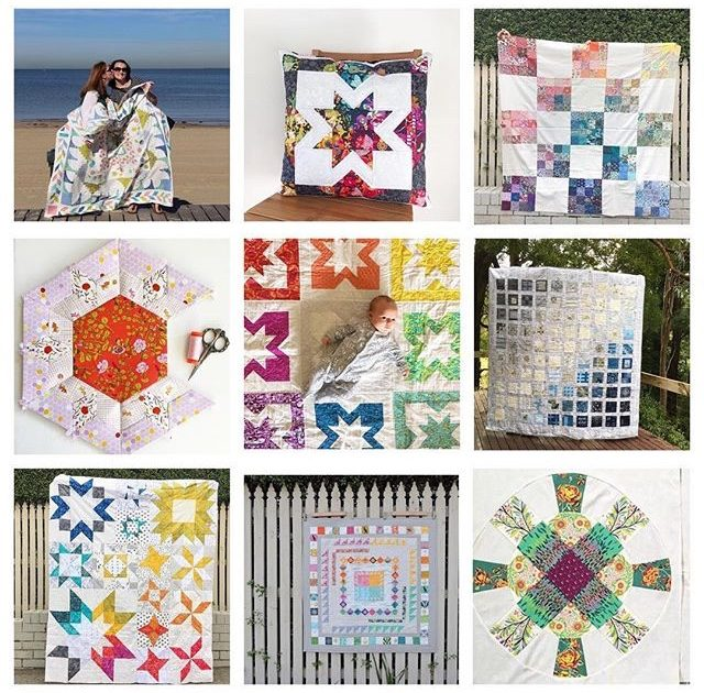 Favourite quilt projects from 2017