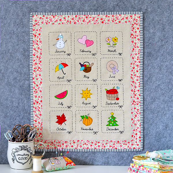 Monthly Sampler Mini by Down Grapevine Lane