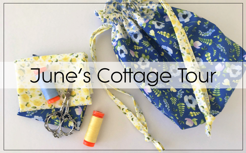 June's Cottage Maker's Tour: All Zipped Up