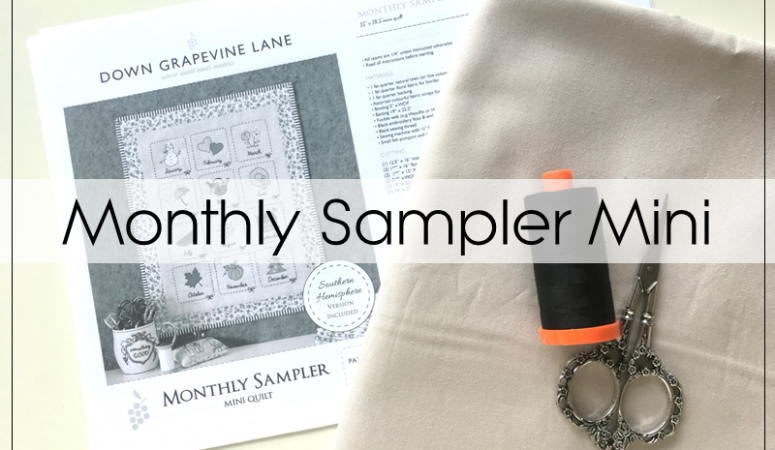 Monthly Sampler Mini Plans