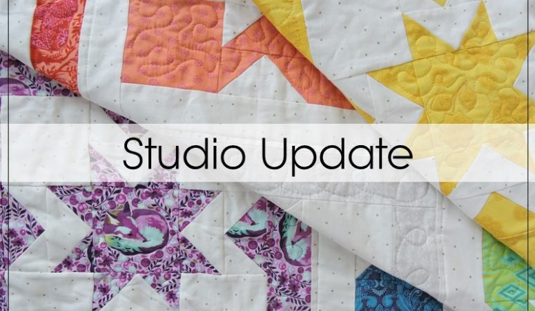Studio Update: Newsletter, Pattern Retirements
