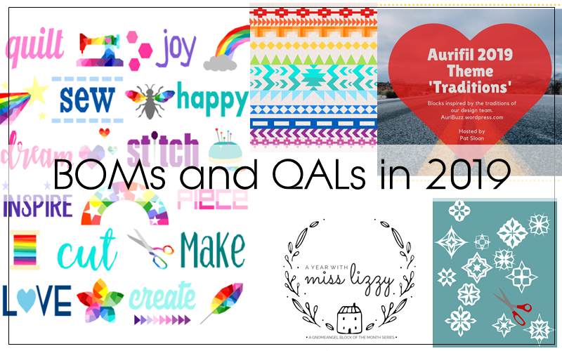 Boms And Qals For 2019 Blossom Heart Quilts