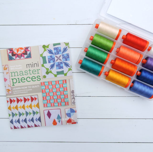 Mini Masterpieces book and thread set