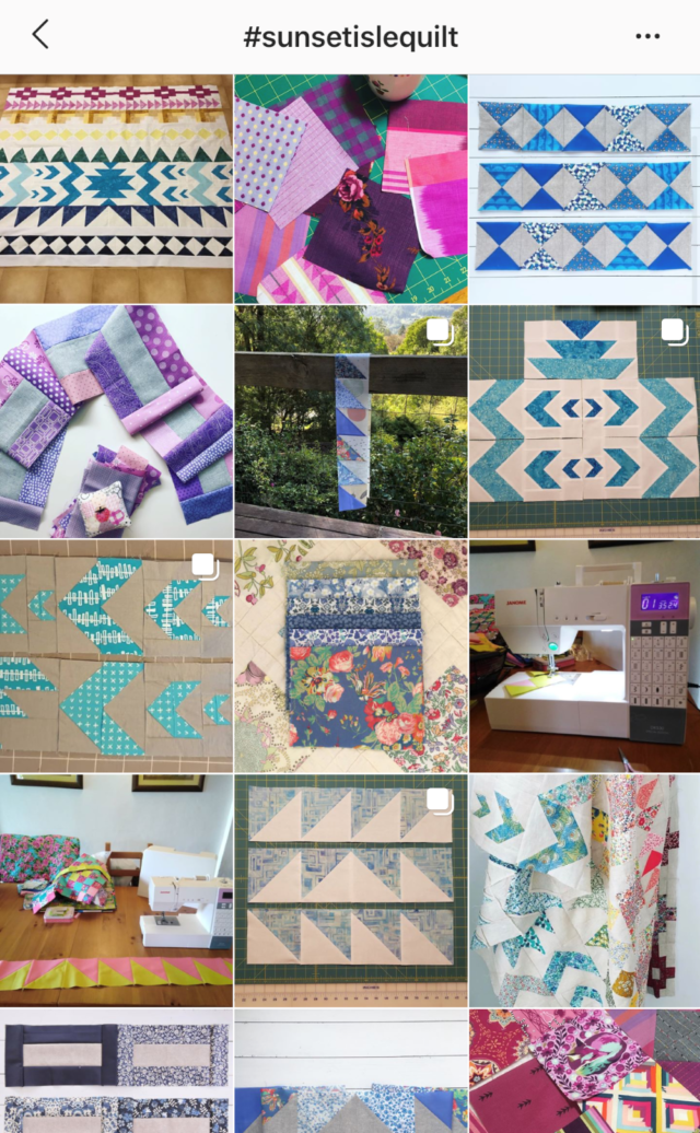 Sunset Isle Quilt on Instagram by Blossom Heart Quilts