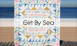 Girt By Sea – A Modern Medallion Quilt Pattern